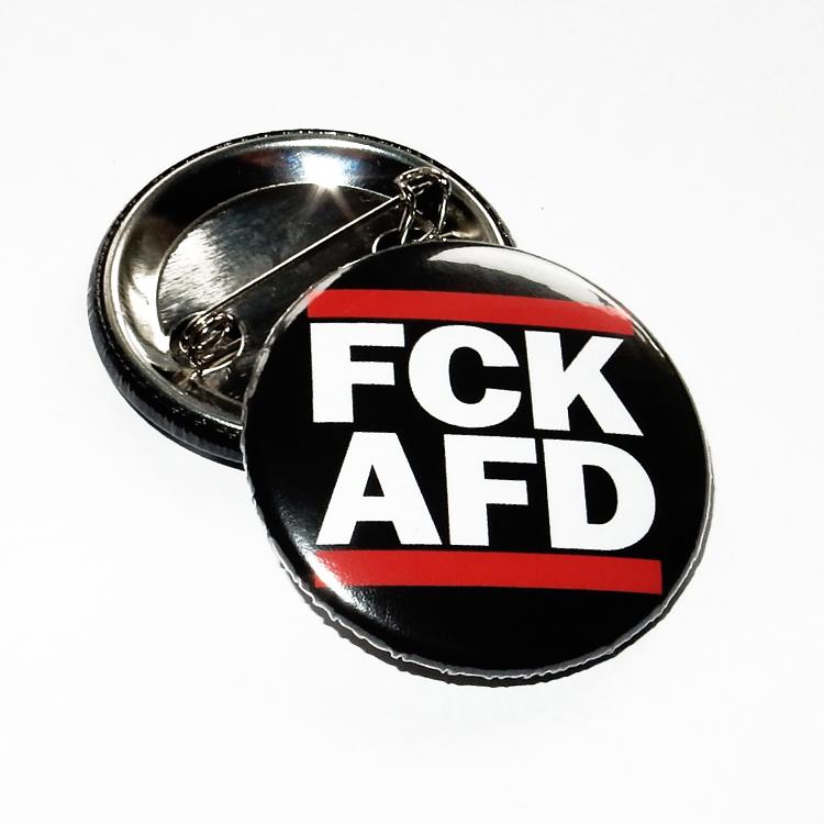 FCK AFD Button, 25mm / 38mm / Set oder einzeln, Anstecker, Pin, Antifa, Demo