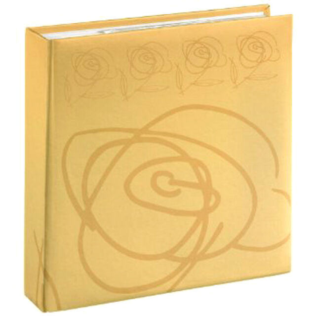 Hama 'Wild Rose' Wedding Photograph Album - Holds 200 6x4s with Memo Space
