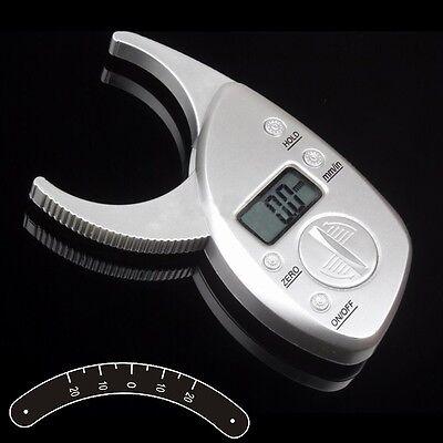 Digital High Quality Display LCD Skin Analyzer Body Fat Caliper Measurement