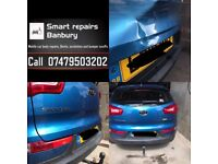 Mobile car body repairs