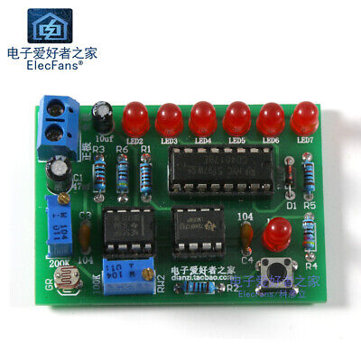 (Need To Solder) Light control Flash lamp circuit night DIY production kit Light Control Circuit