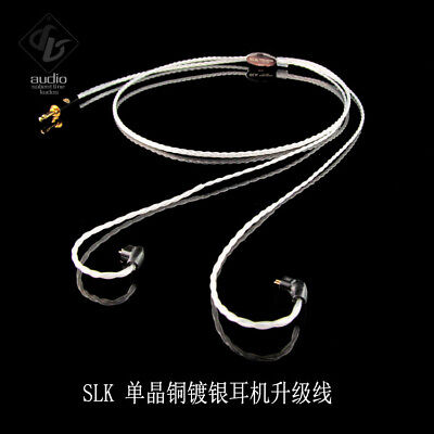 SLK Audio OCC Silver-plated 3.5 Headphone Upgrade Cable for JH16PRO FitEar im04