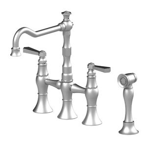Kitchen Bridge Faucet with Hand Spray-paid