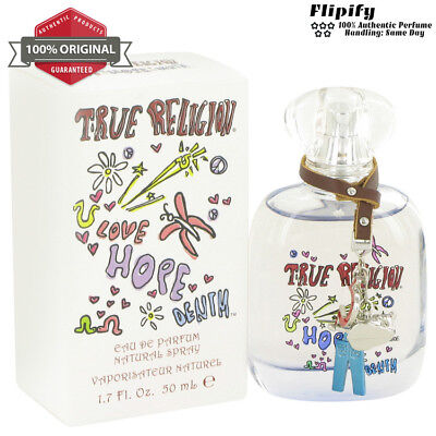True Religion Love Hope Denim Perfume 1.7 oz / 3.4 oz EDP Spray for WOMEN