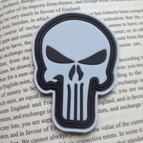 Kitty Punisher Morale Military Tactics 3D PVC Patch Badges