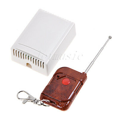 12v 1 Channel Wireless Remote Control Receiver Momentary Switch