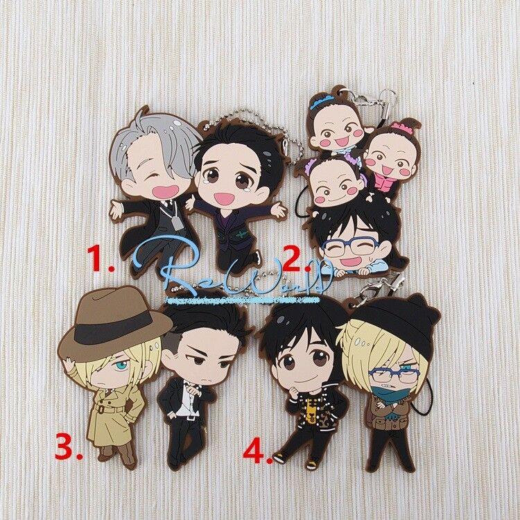 Ansatsu Kyoushitsu Rubber Strap Keychain Assassination Classroom Keyring Gift LY