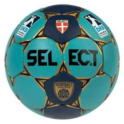 Elite Bad (Select - Bad Ball 3 Elite, Handball, blau/türkis/gold)