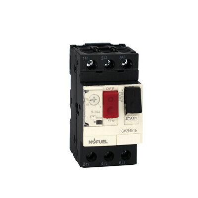 Motor Circuit Breaker Gv2me All Series With Pushbutton Control Din Rail Mount