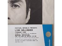 1 x Liam Gallagher at Finsbury Park