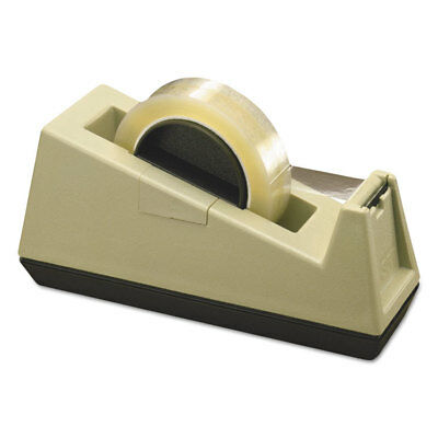 Scotch Heavy-duty Weighted Desktop Tape Dispenser 3 Core Plastic Puttybrown