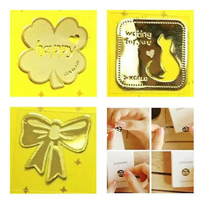 TPD 24K Gold Plated Anti Radiation Block Shield Cell Phone Sticker Various Types