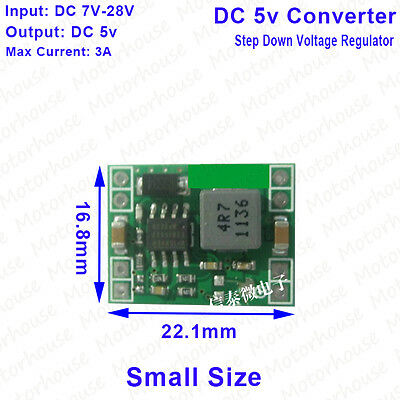 Dc-dc 9v12v24v To 5v 3a Step Down Voltage Regulated Power Supply Converter