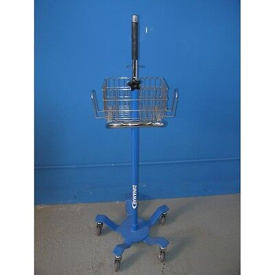 Ge Critikon Dinamap Rolling Stand Ref. 3215e  Works With Pro Series Others