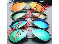 Rayban sunglasses aviator wayfarer Gucci Prada new