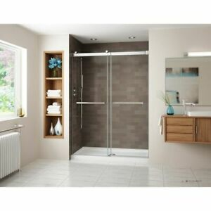 Fleurco NG148 Gemini In-Line Bypass Brushed Nickel