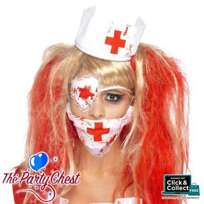 BLOODY NURSE KIT NATIONAL HORROR SERVICE Halloween Doctor Nurse Fancy Dress (National Fancy Dress Kostüm)