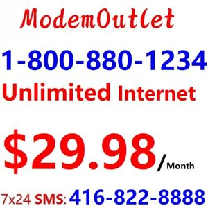 Unlimited 50M internet $29.98 , BYOD special with own modem