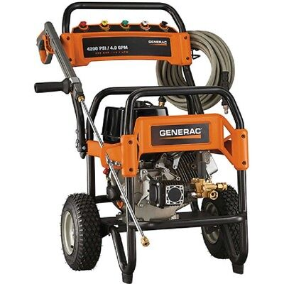 NEW! GENERAC Commercial Gas Pressure Washer - 4200 PSI, 4 GP