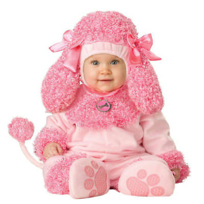 Halloween Precious Poodle Pink Dog Animal Toddler Baby Girls Infant Costume 0-24 - Dog Costume Toddler