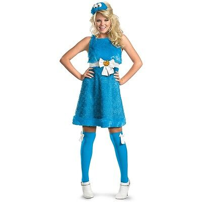 Cookie Monster Sassy Adult Costume Sesame Street | Disguise 11476
