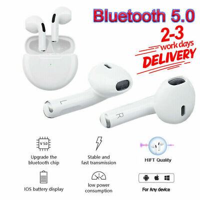 TWS Wireless Bluetooth Headphones Earphones Earbuds In-Ear Pods For IOS Android