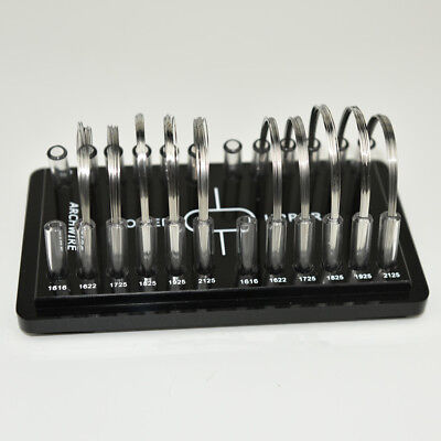 1pc Dental Square Orthodontic Arch Wire Holder Acrylic Organizer Holder Case
