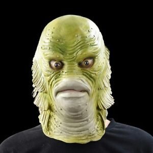 CREATURE FROM THE BLACK LAGOON RUBBER MASK FOR HALLOWEEN - NEW!