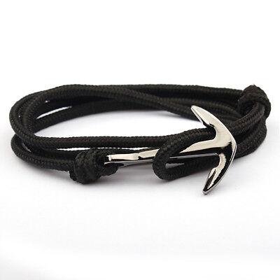 Unisex Alloy Anchor Bracelet Multilayer Risers For Women&Men Friendship Bracelet - Adult Friendship Bracelets