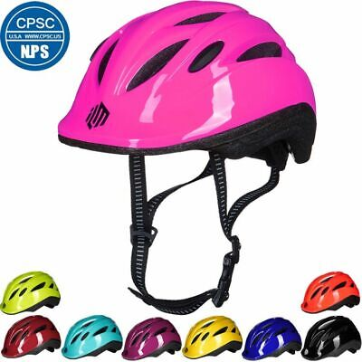 ILM Kids Toddler Bike Bicycle Cycling Helmet with Adjustable Dial CPSC Certified