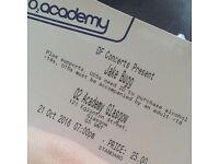 1x standing Jake Bugg o2 academy Glasgow 21/10/16