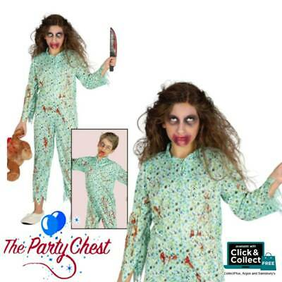 Possessed Baby Halloween Costume (POSSESSED CHILD EXORCIST MOVIE COSTUME Halloween Party Fancy Dress Outfit)
