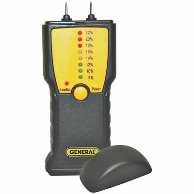General Tools MM1E Analog Moisture Meter L.E.D. Display