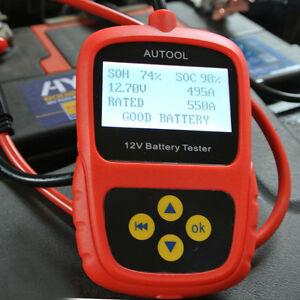autool bst 100 car battery system tester lead acid test diagnostic agm gel 12v ebay. Black Bedroom Furniture Sets. Home Design Ideas