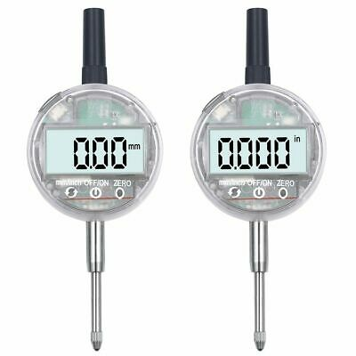 Digital Display Dial Indicator Touch Mechanical Usb Charging Metric Metalworking