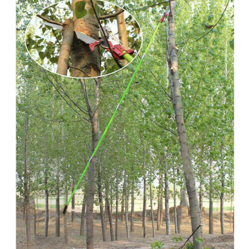 как выглядит New 26 Foot Length Tree Pole Pruner Tree Saw Garden Tools Outdoor Cutter фото