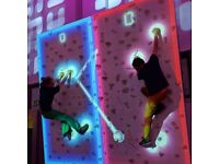 Augmented Climbing Wall game, Great upsell for a leisure business or standalone