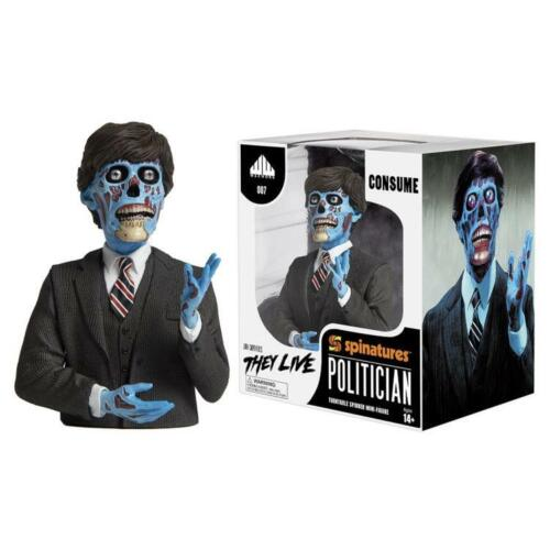 They Live Politician Spinature Figure For Turntables Vinyl Record Collectors