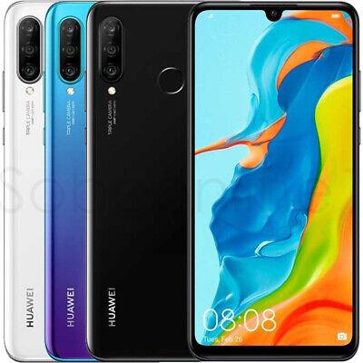 "Huawei P30 lite MAR-LX3A 128GB 4GB RAM (FACTORY UNLOCKED) 6.15"" 24MP Smartphone"
