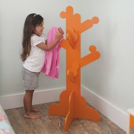 Pkolino Childens Coat Stand Kids Coat Tree Dressing Up Stand Clothes Stand