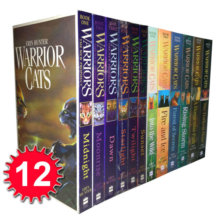 Warriors The New Prophecy Book 5: Warrior Cats Collection Erin Hunter 12 Books Set The New