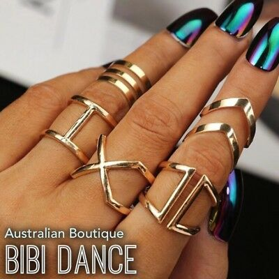 Cleopatra Dance Costume (Belly Dance Jewellery, Cleopatra Gold Goddess Ring Set, Cleopatra)
