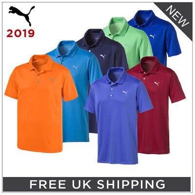 **PUMA '2019' ROTATION SOLID GOLF POLO SHIRT - ALL COLOURS - 29% OFF RRP!!**