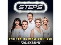 Steps Tickets QUICK SALE