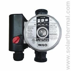 Wilo Star S30, 3 speed pump ( Caleffi NA12169 )