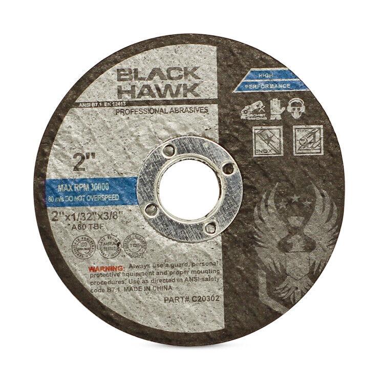 "10 Pack - 2"" x 1/32"" x 3/8"" Reinforced Cut-Off Wheel Die Grinder Cutting Discs"