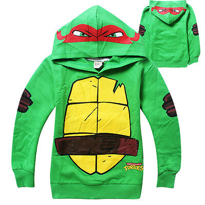 Teenage Mutant Ninja Turtles Clothing (Cute Teenage Mutant Ninja Turtles Clothes Baby Kids Boys Tops Hoodies)