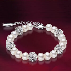 Classic 100% Real Fresh Water Pearl Brand New Bracelet 60% off