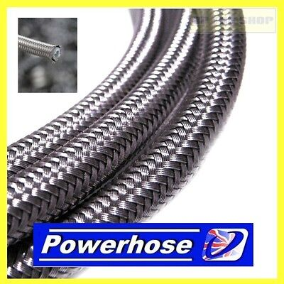 From 1 meter AN-3 stainless brake hose line 6.28mm diameter Venhill -3-PWRHSE