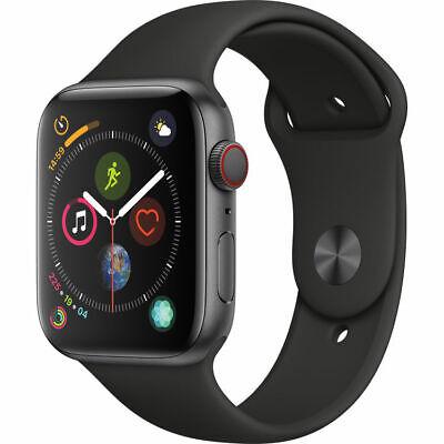 Apple Watch Series 4 44 mm Array Gray Black Sport Group GPS/Cellular - New